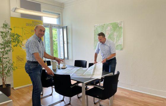 Abschiedsbesuch bei Regionalverbandsdirektor Wilfried Franke