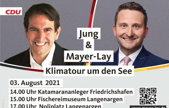 Klimatour mit Andreas Jung MdB und Heinrich Stößenreuther