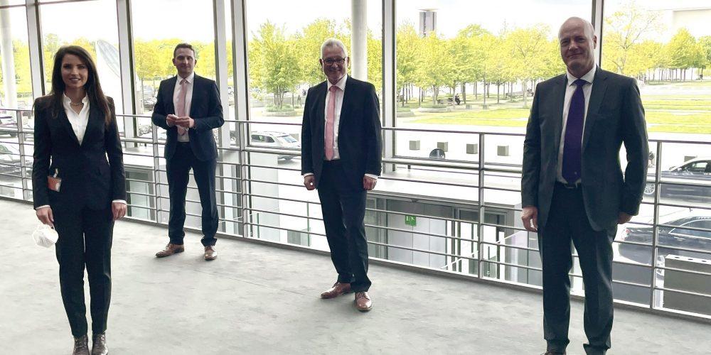 Austausch mit Rolls-Royce in Berlin