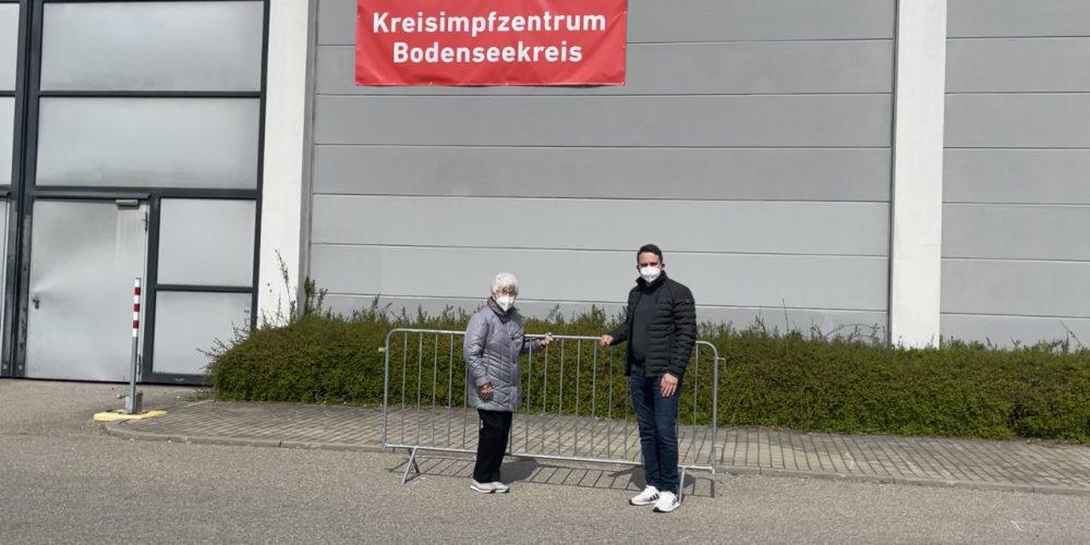 Kreisimpfzentrum – professionell und auf Hochtouren