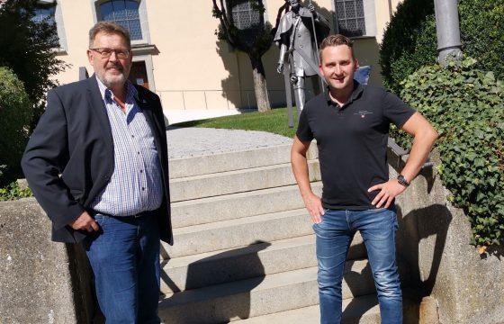 Zu Besuch bei Pfullendorfs Bürgermeister Kugler