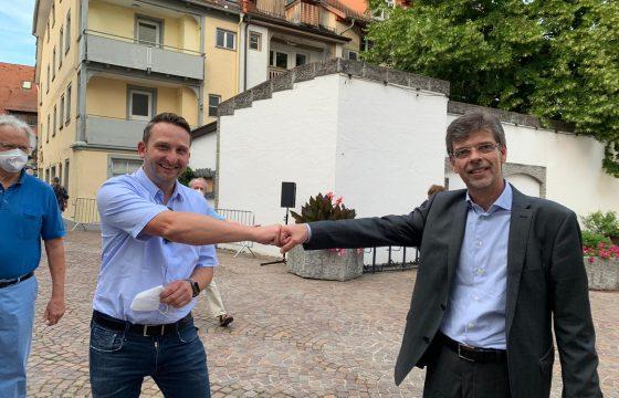 Georg Riedmann bleibt Bürgermeister in Markdorf