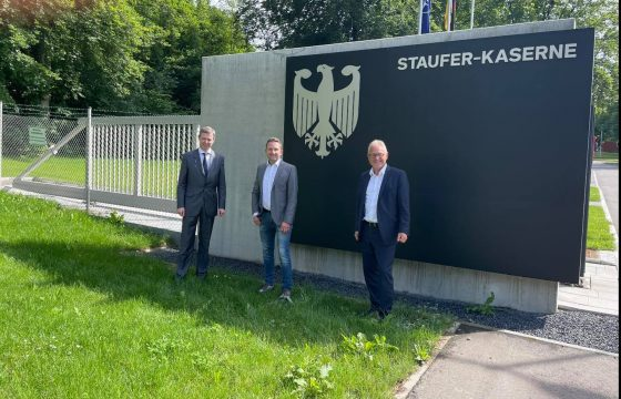 Stauferkaserne in Pfullendorf auch in Zukunft Weltspitze