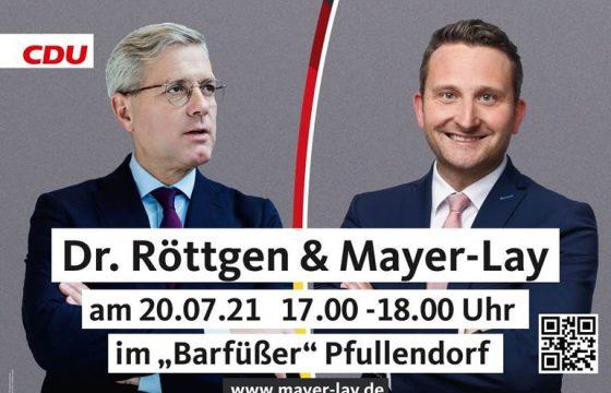 Dr. Röttgen zu Gast in Pfullendorf